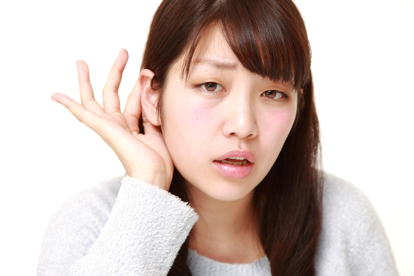 慢性中耳炎がすすむと鼓膜に穴が空いてしまいます!
