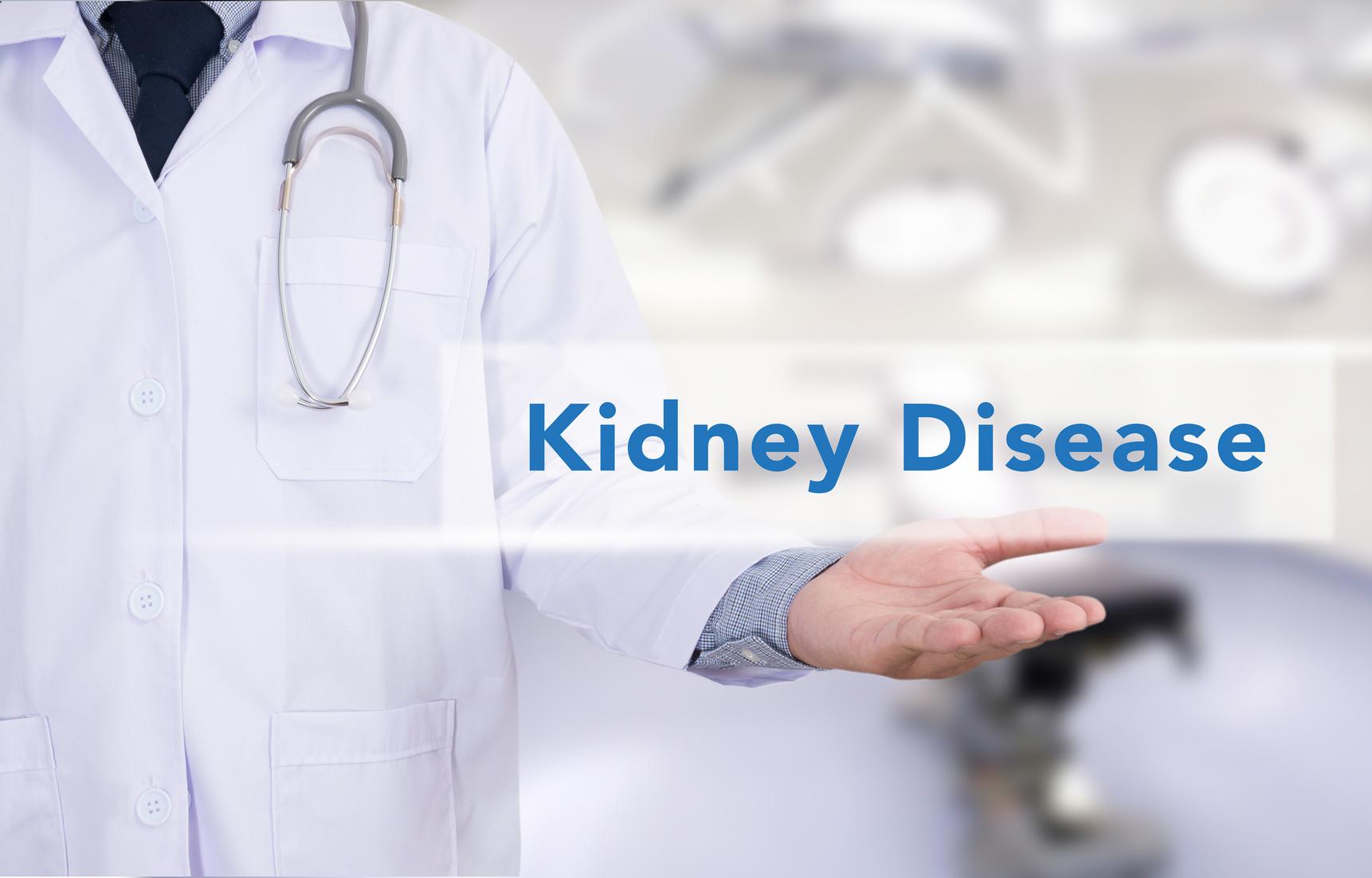 血清クレアチニンは腎機能の指標。高いままだと透析や腎臓移植になってしまうかも